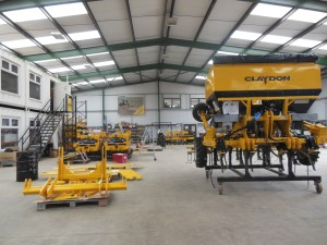 Claydon expands