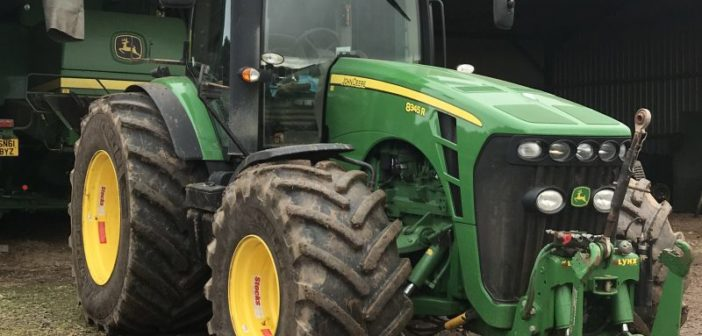 Greenshields Agri reaps the benefits of Michelin tyres