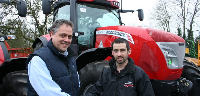 Staffordshire tractor dealership aims for expansion with McCormick franchise