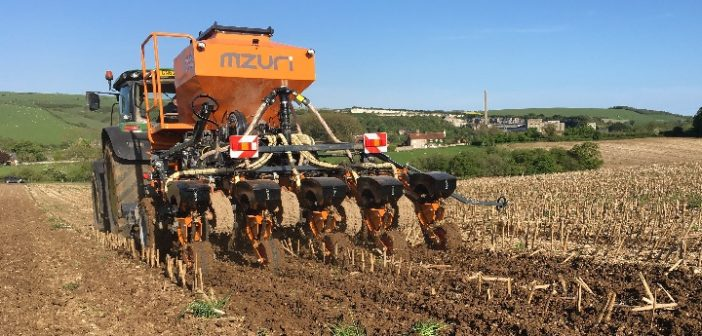 Mzuri to launch new Pro-Till drill at Cereals 2018