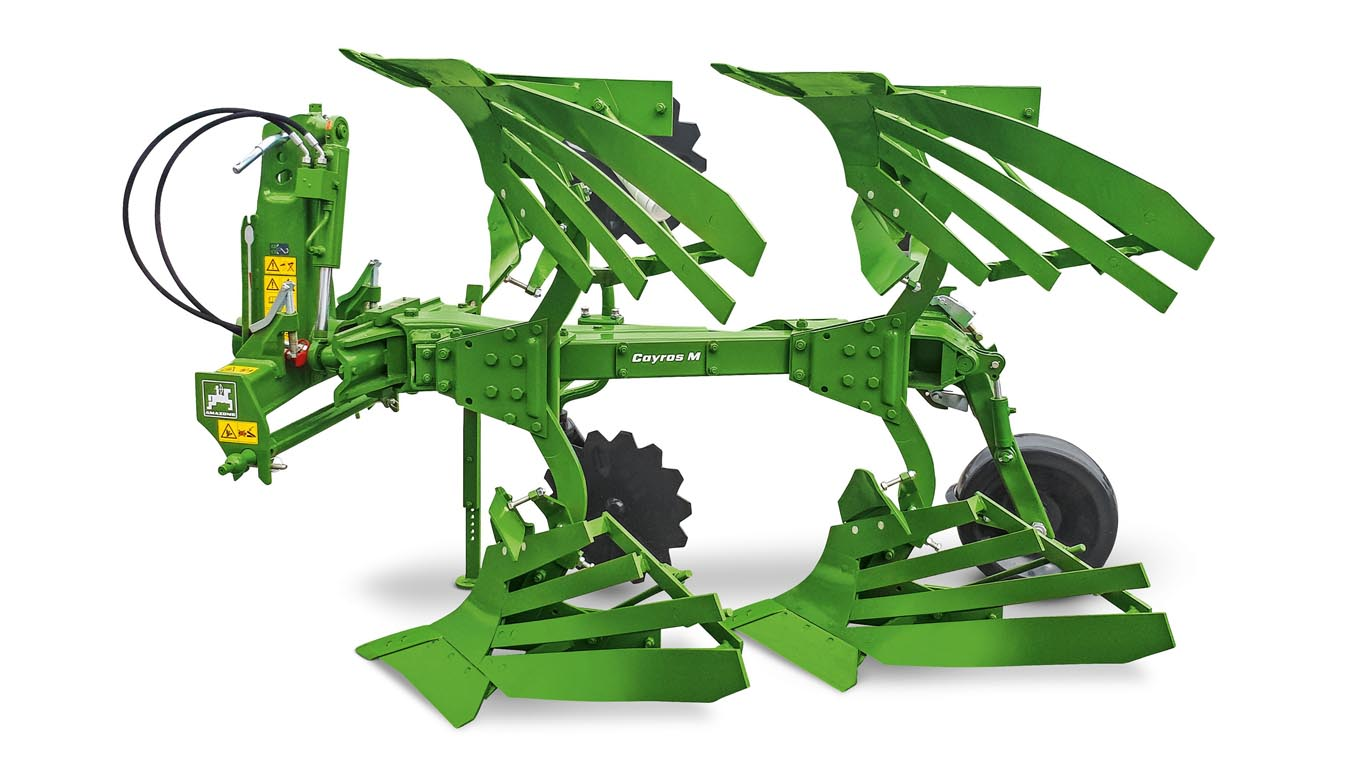 Amazone Expands The Cayros Plough Programme Tillage And Soils