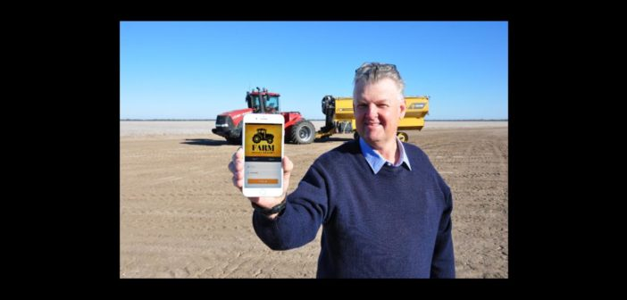 New app for farm machinery service