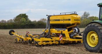 Claydon's new compact 6m trailed drill to be launched at LAMMA 2019