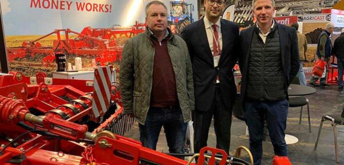 LOZOVA MACHINERY has begun to supply implements in Great Britain