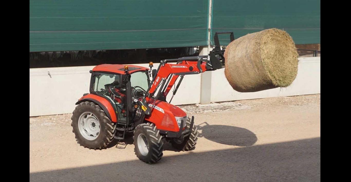 New-generation McCormick X5 Series tractors have more