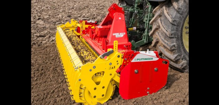 Pottinger LION power harrows are built to tackle all kinds of operating conditions