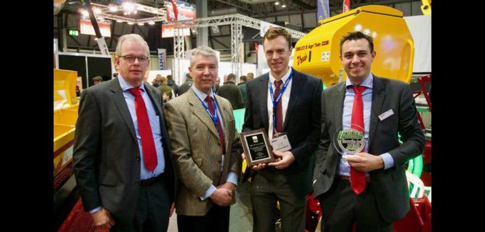 JC Machinery wins the Ivel Award and Silver Arable Innovation Award at LAMMA 2020