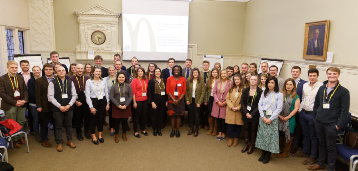Oxford Farming Conference and McDonald's UK break barriers