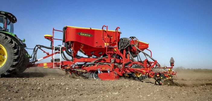 Vaderstad launches new pneumatic seed drill spirit 400C/S