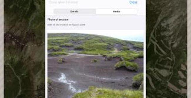 New mobile app puts soil erosion under the spotlight